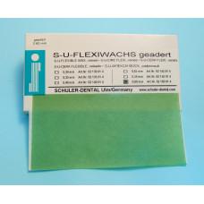 SU Fluted casting wax 0.30mm