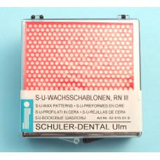 Wax templates RN III Schuler Dental