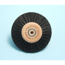 Hard brush with converging bristles, diameter 80mm, Polyrapid