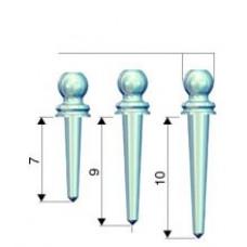 Rhein - Micro titanium pins 036PTM-9 / 5pcs