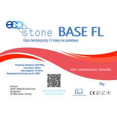 Gips IV kl.Eco Stone Base FL na podstawy 5 kg Pomarańczowy